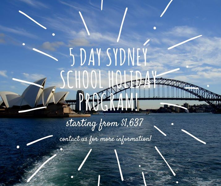 5 Day Sydney School Holiday Program